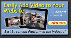 Add Streaming Video To Your Website